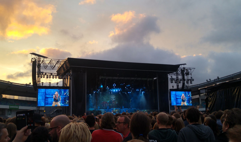 Imaginary Karin - Iron Maiden at Ullevi, Gothenburg