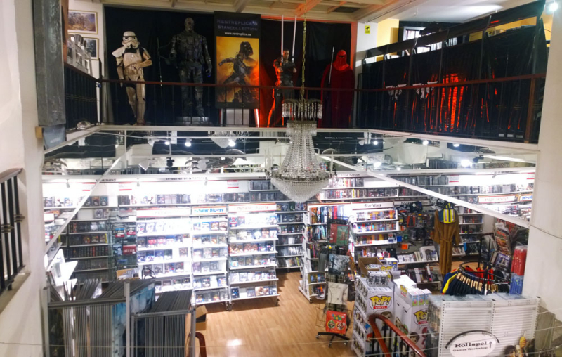 Imaginary Karin - Sci-fi bookstore in Stockholm