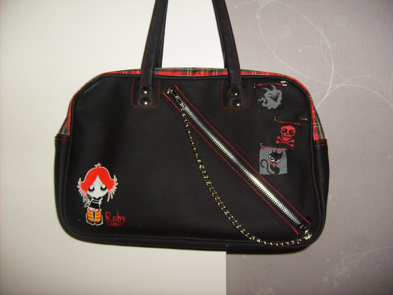 Imaginary Karin - Ruby Gloom bag