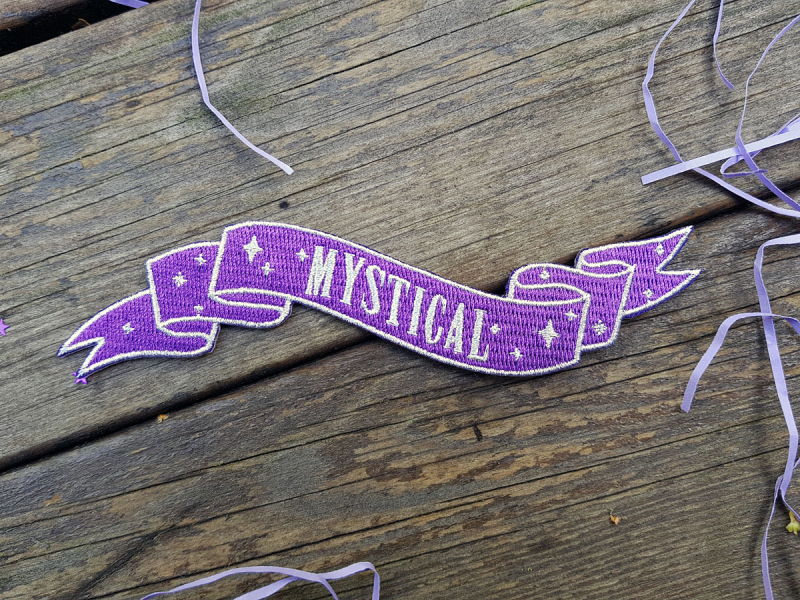 Spooky Box - The Mystic - patch