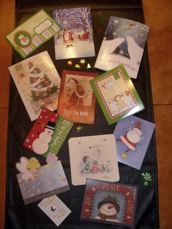 Imaginary Karin - Christmas cards 2011
