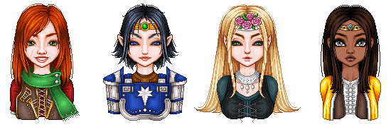 pixel doll LOTRO characters