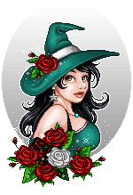Imaginary Karin - pixel doll rose witch