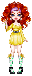 pixel doll 70s style