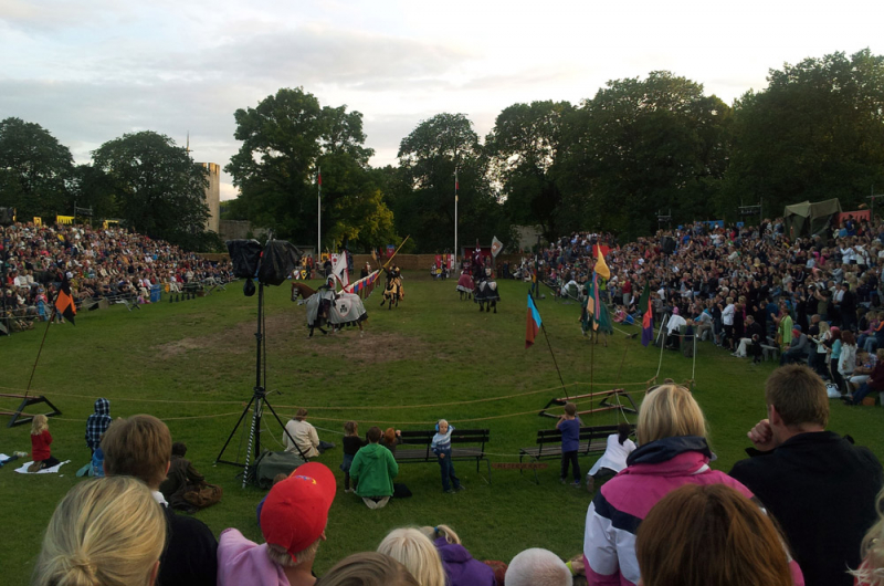 medieval jousting tournament