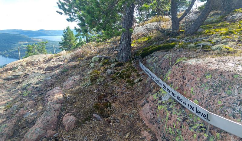 Imaginary Karin - world's highest coastline