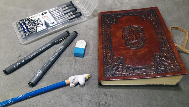 Imaginary Karin - inktober drawlloween tools