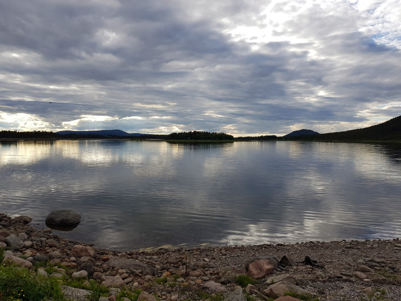 Lake near Arjeplog, Sweden
