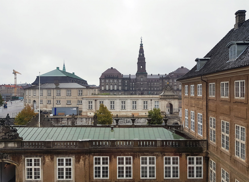 View from the National Museum, Copenhagen