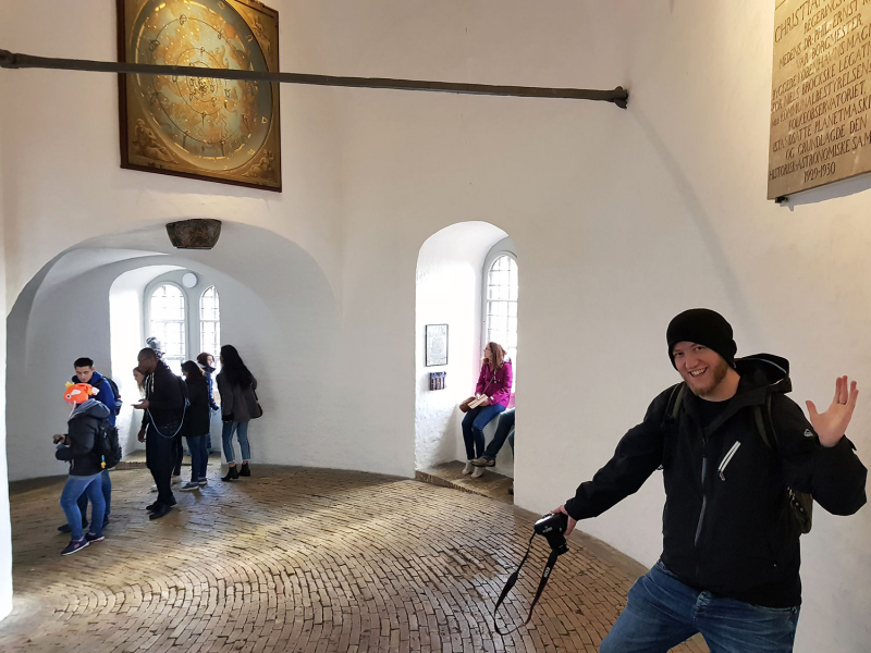 Inside The Round Tower, Copenhagen