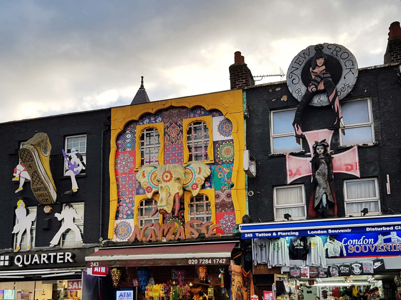 Camden Town buildings