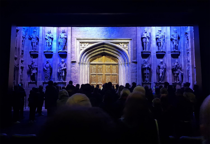 Entrance to the Great Hall, Harry Potter Studio Tours