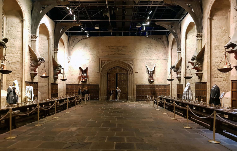 The Great Hall, Harry Potter Studio Tours