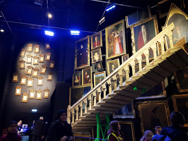 Inside the Harry Potter Studio Tour