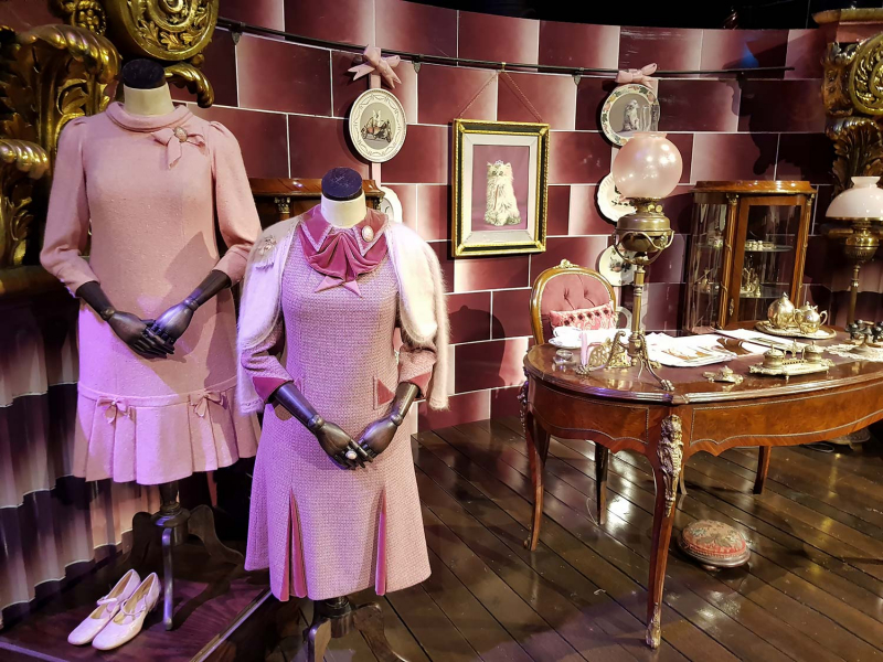 Office of Dolores Umbridge at the Harry Potter Studio Tour