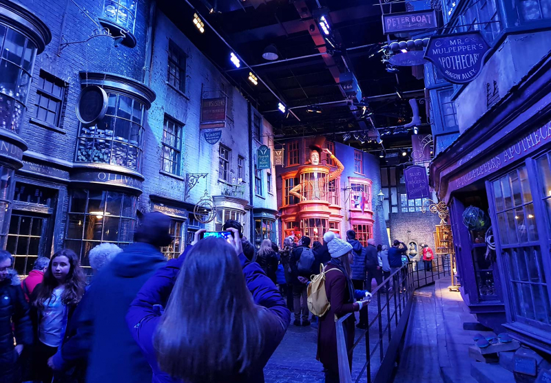 Diagon Alley at Harry Potter Studio Tour
