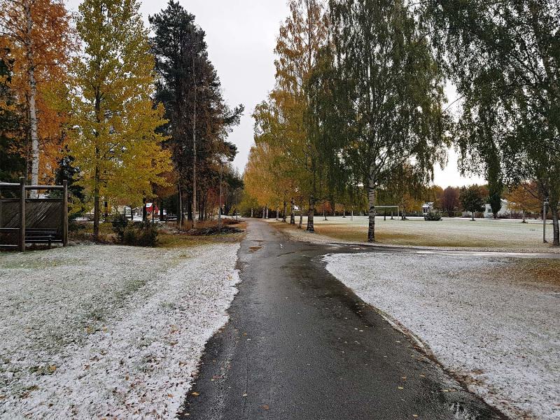 First snow 2018