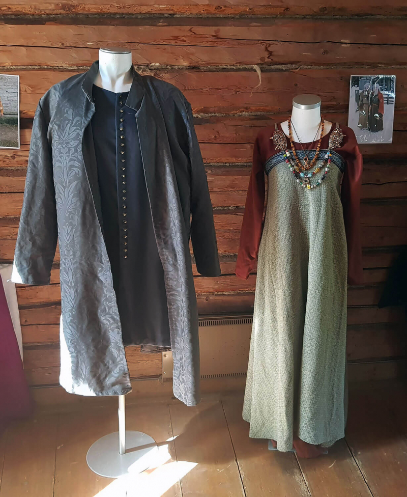 Medieval costumes for men and women