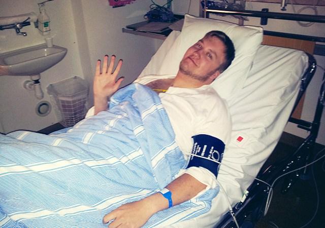 Imaginary Karin - Markus post-op at the hospital