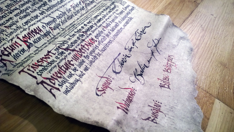 Imaginary Karin - bilbo's contract detail