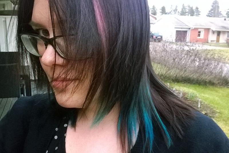 Imaginary Karin - blue hair