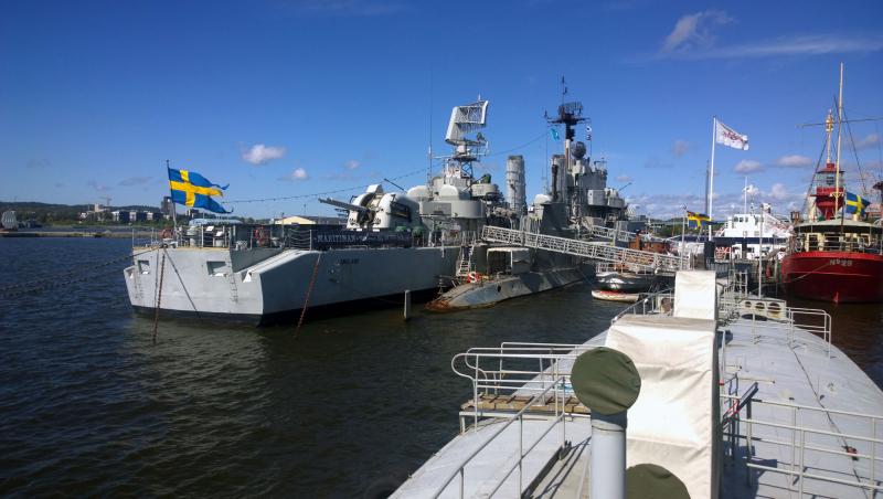 Imaginary Karin - Gothenburg May 2015 HMS Småland