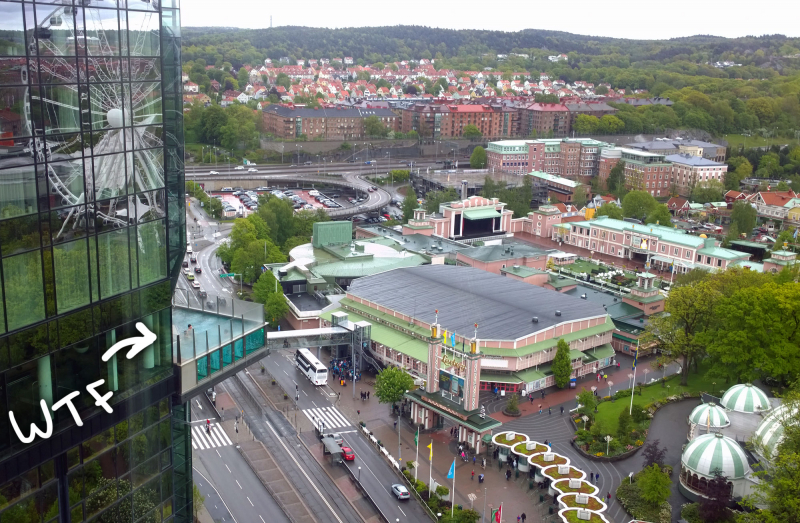 Imaginary Karin - Gothenburg Gothia Towers pool