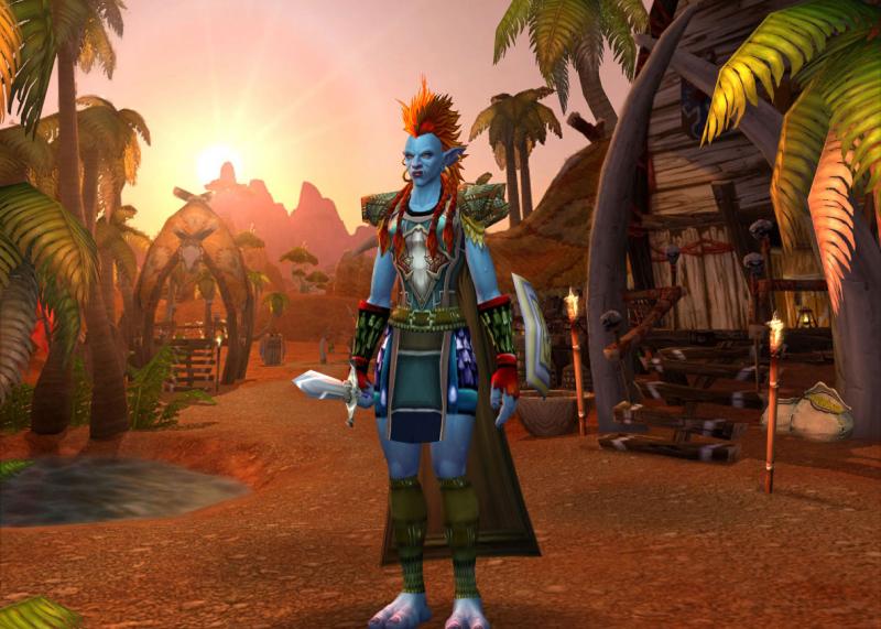 Imaginary Karin - World of Warcraft troll warrior