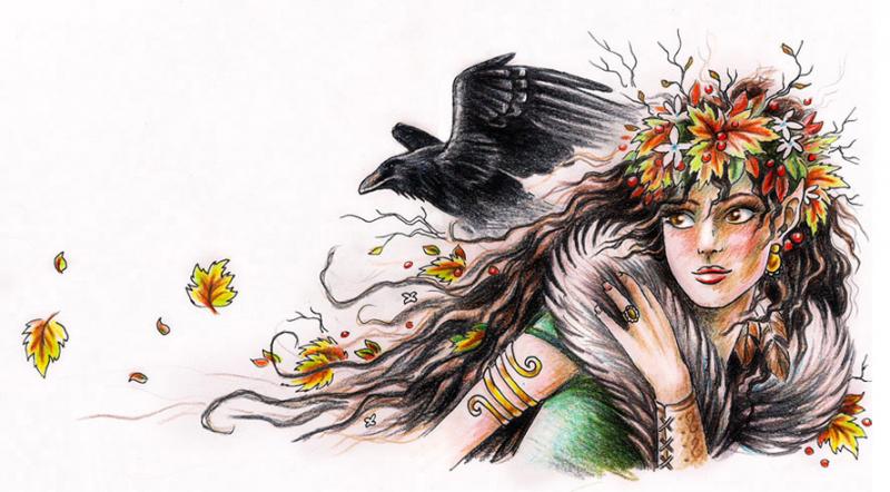 Imaginary Karin - autumn elf