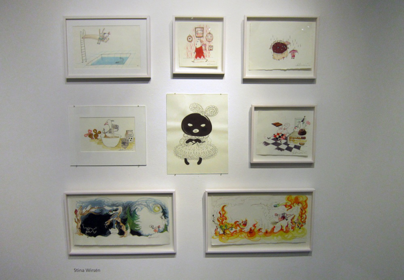 Imaginary Karin - childrens books art exhibition