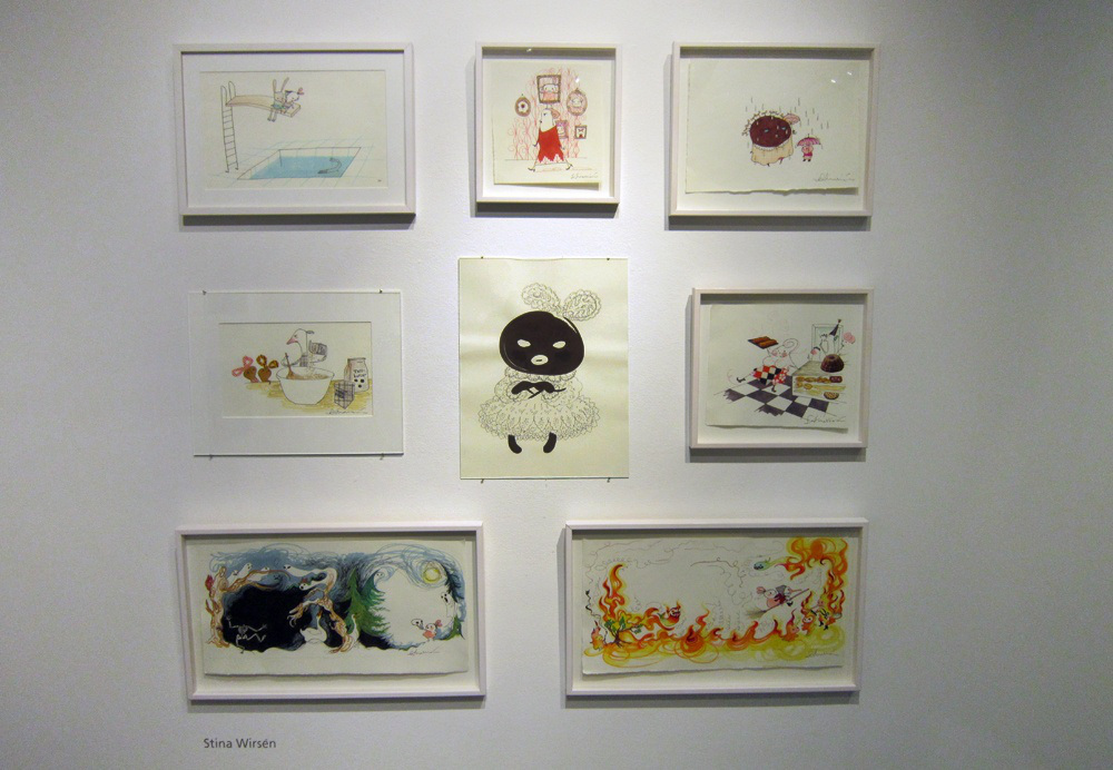 Imaginary Karin - children's books art exhibition