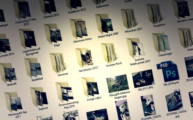 Imaginary Karin - storing digital photos