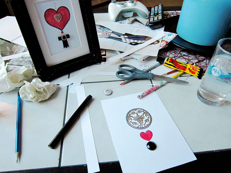 Imaginary Karin - frame crafts