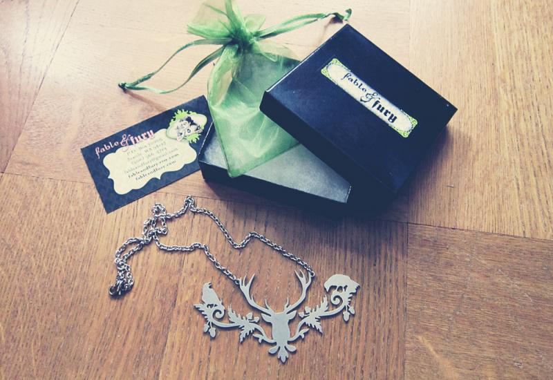 Imaginary Karin - Etsy necklace