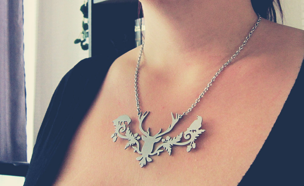 Imaginary Karin - Etsy necklace