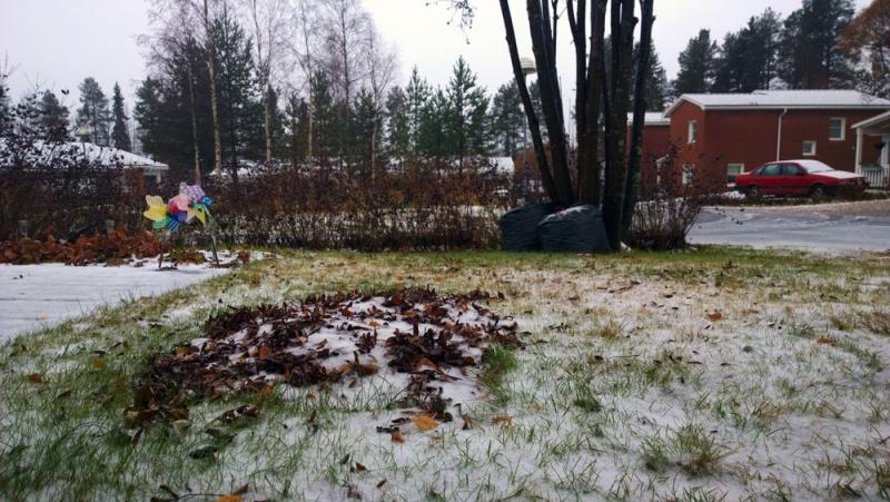 Imaginary Karin - first snow 2014