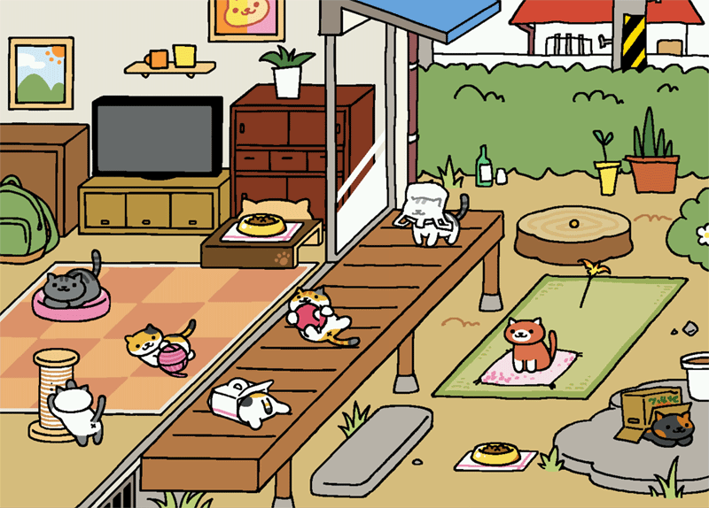 Imaginary Karin - Neko Atsume